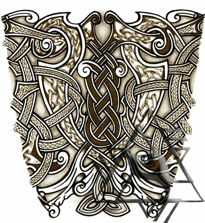 1001 + Idées Pour Le Tatouage Viking Et Quelle Est Sa