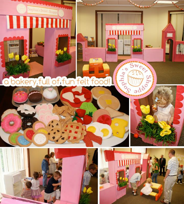 The Busy Budgeting Mama: My Sophia's Sweet Shoppe Birthday Party