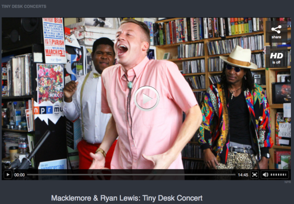 Macklemore Ryan Lewis Npr Tiny Desk Concerts Captures You With His Lyrics And