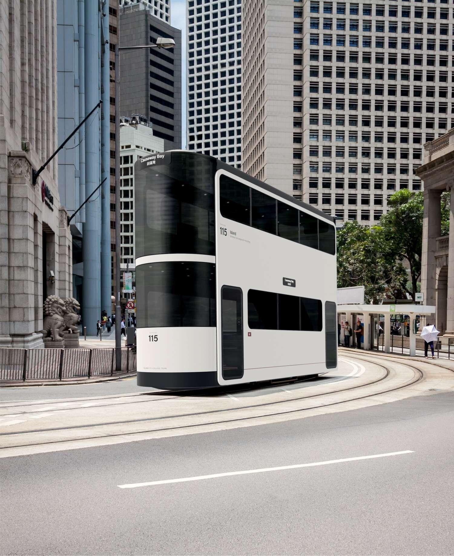 Andrea Ponti's Island Tram Reimagines The Public Transport