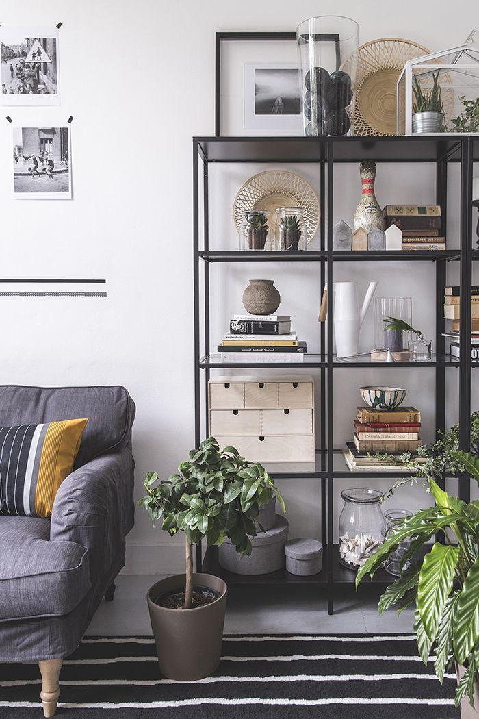 Woonkamer in Scandinavische stijl. | Vittsjo | Pinterest ...