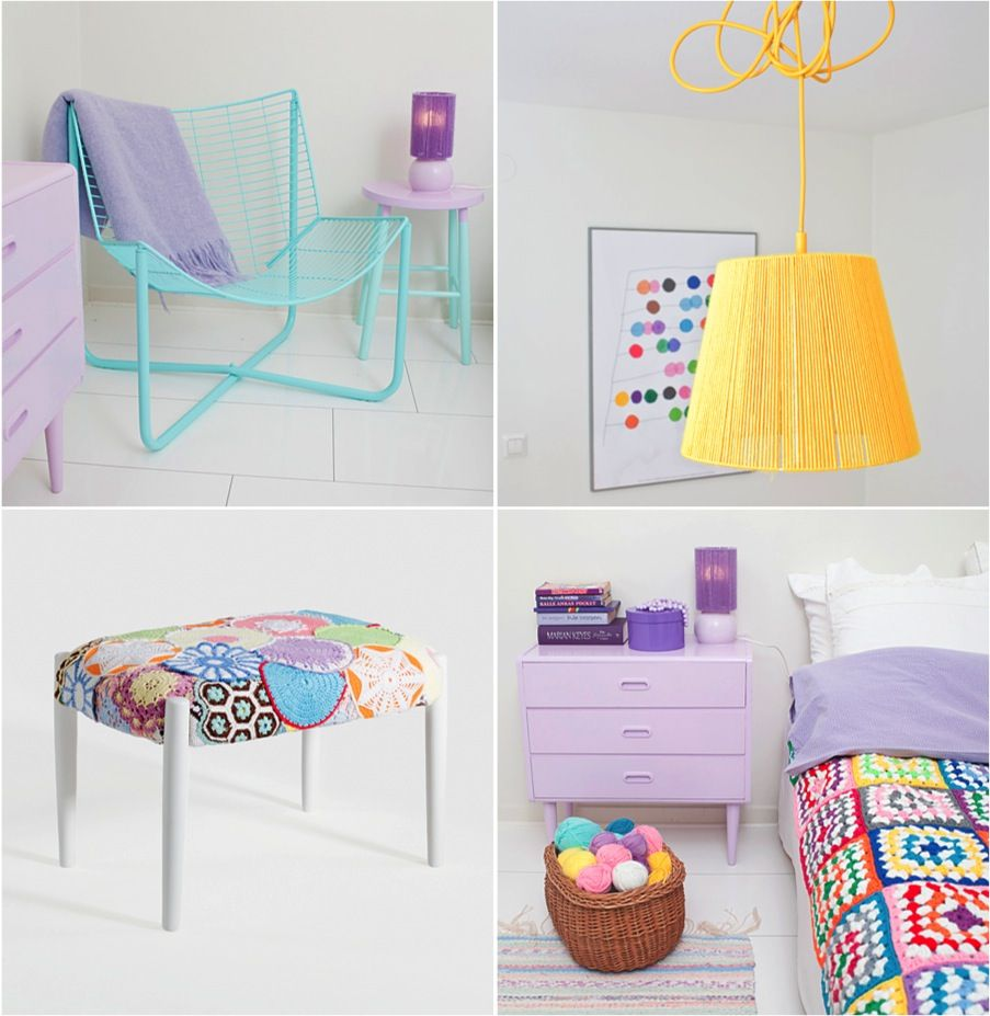 Mimmi Staaf1 Pastel Furniture Furniture Girls Bedroom Grey
