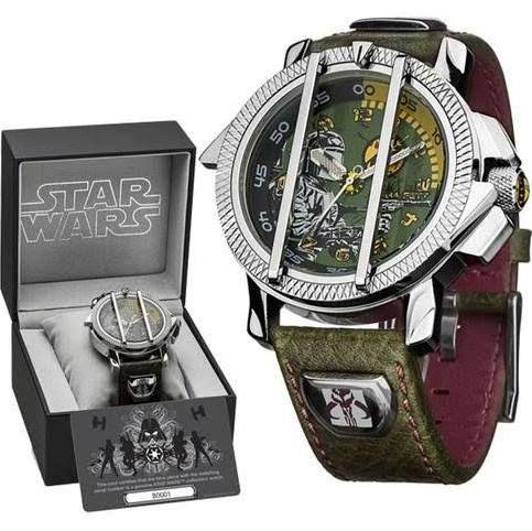 Genuine Star Wars Boba Fett Adult Collectors Watch ...