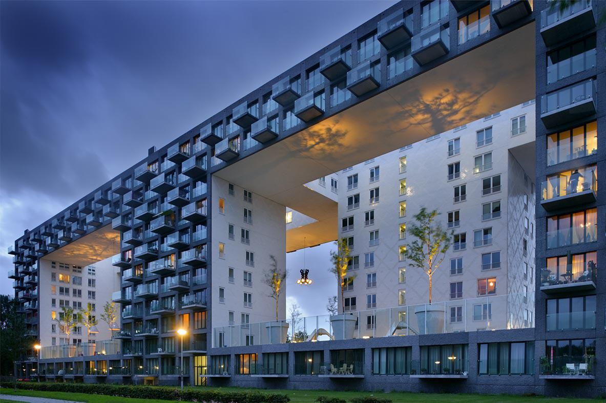 Parkrand / MVRDV Geuzenveld, Amsterdam, The Netherlands