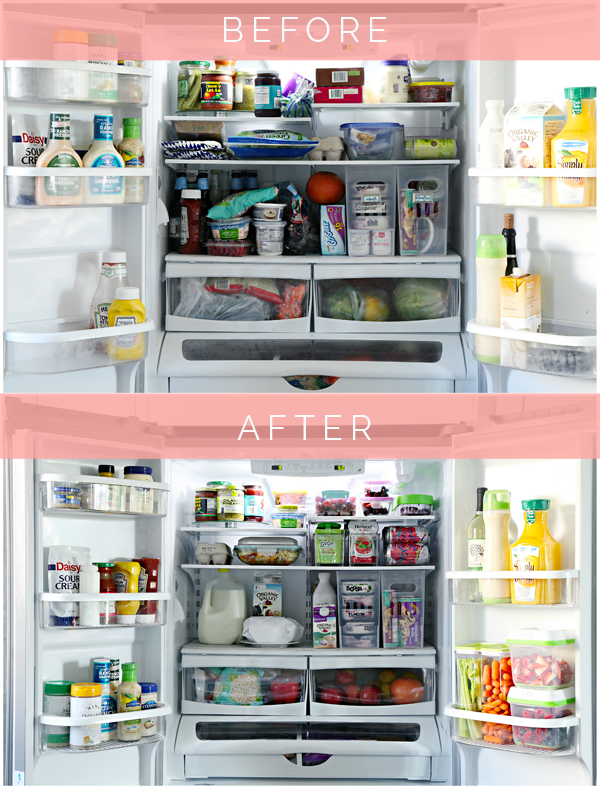 Organized Counter Depth Fridge  Freezer Drawer with Tips and Favorite Products