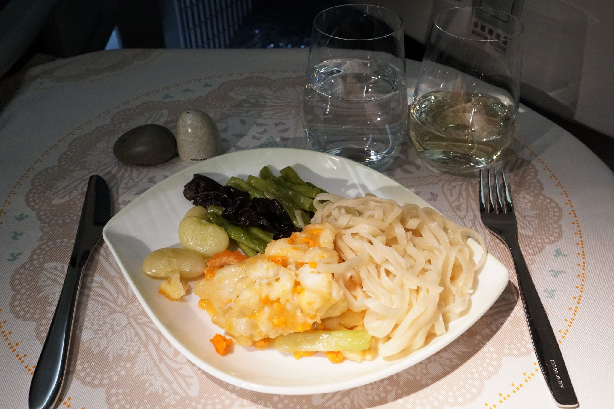 EVA Air Meal (With images) Air meal, Meals, Airline food