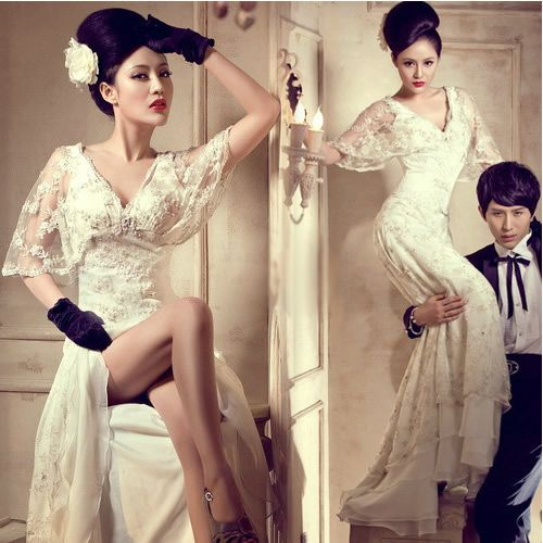 Ivory White Lace Vintage Roaring 20s Style Wedding Dress With Sleeves Sku 118226 Fairy Tale Future Pinterest Twenties And