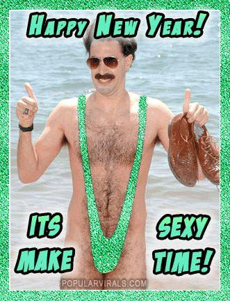 Borat Mankini Happy New Year Happy New Happy New Year