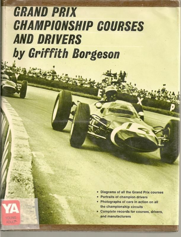 Grand Prix Championship Courses and Drivers Race Car HC DJ 1968 ...