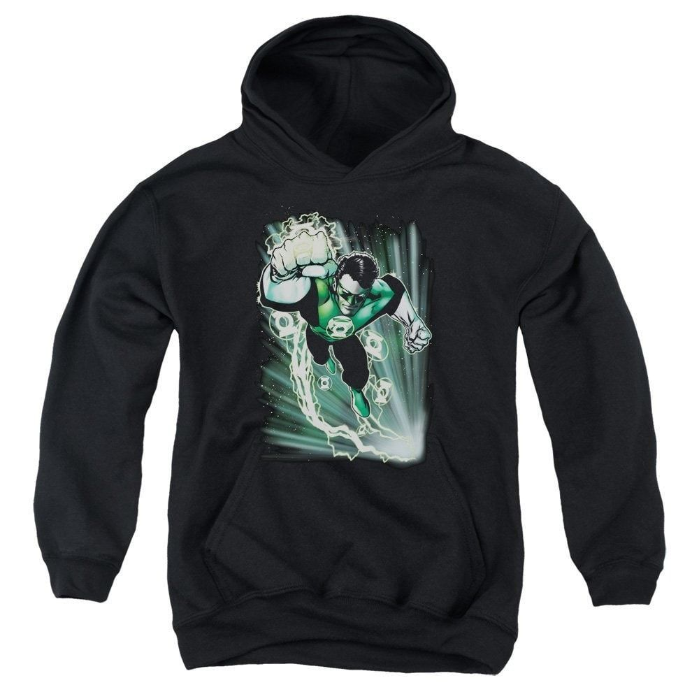Green Lantern - Emerald Energy Youth Hoodie