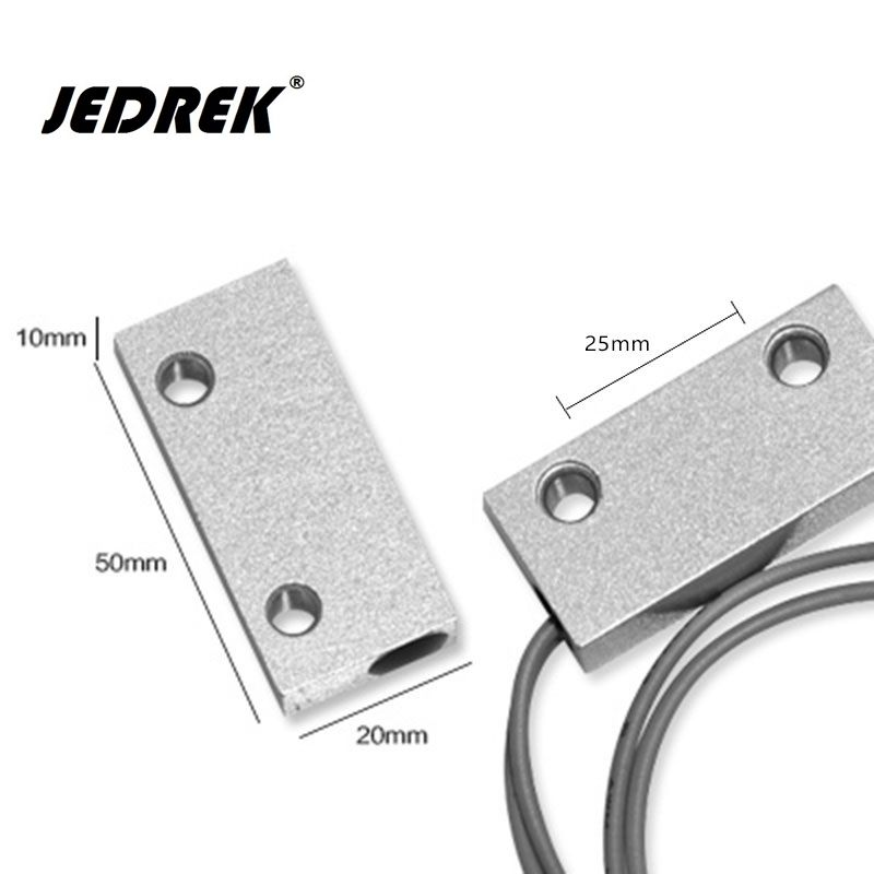 Wire Metal Magnetic Door Sensor Switch For Alarm System Access