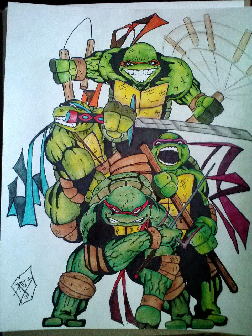 This Teenage Mutant Ninja Turtles Fan Art Comes From Superherouniverse Http Superherouniverse Com Art Showph Cartoon Turtle Teenage Mutant Ninja Turtles Tmnt