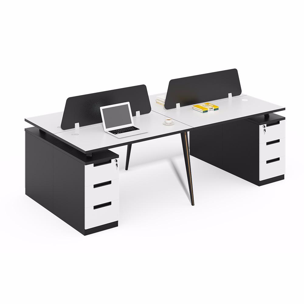 Modern Design Modular Furniture Open 2 Person Metal Legs Office Desk View Office Desk Legs Metal Xusheng Product Modular Furniture Office Desk Modern Design
