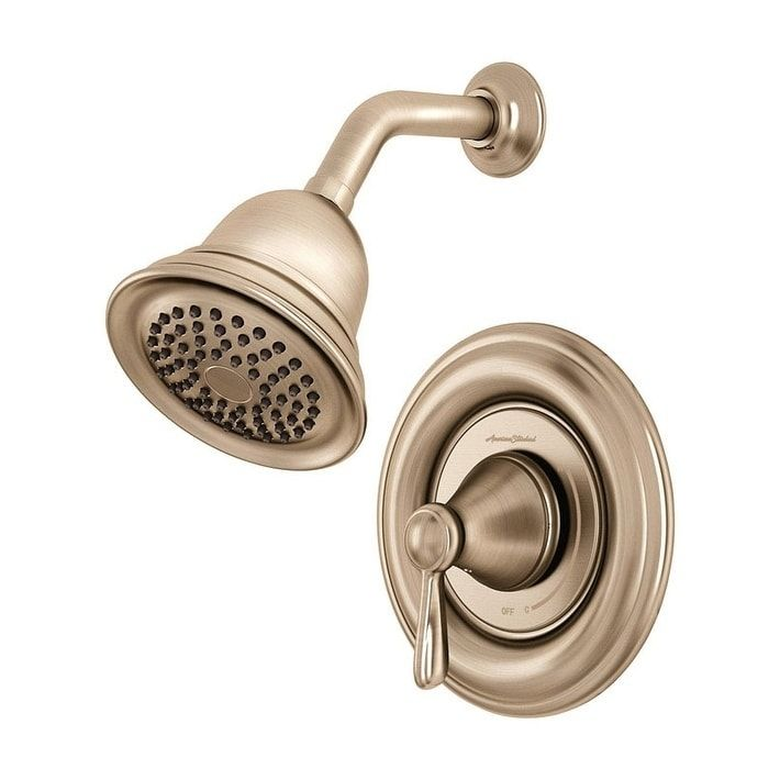 Photo of American Standard Marquette 1 handle shower mixer Brushed nickel brass
