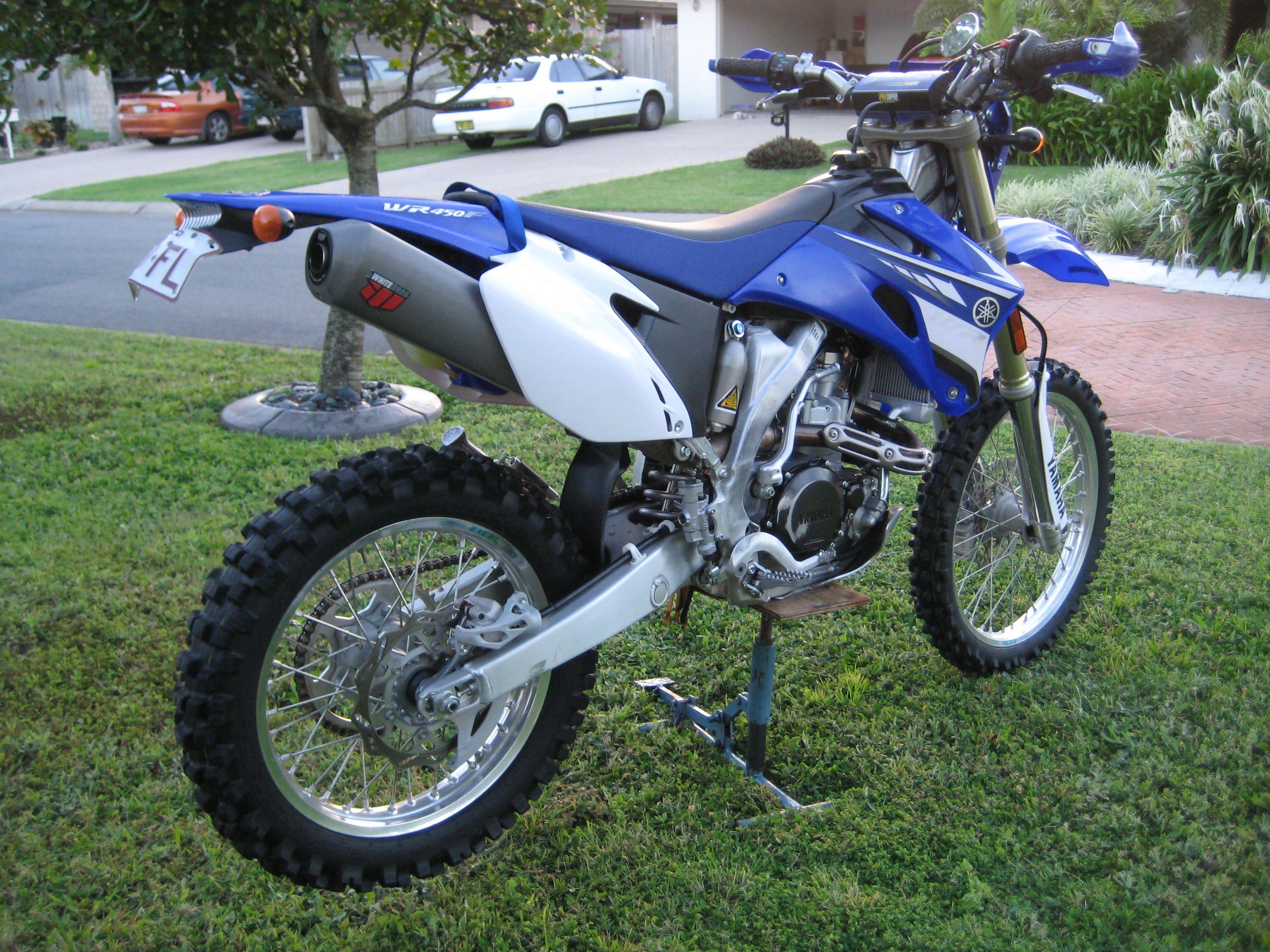 Yamaha 2008 Wr450f Dirtbikes Supermoto Motocross