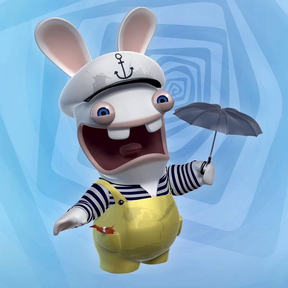 Lapin Cretin Rabbids Funny Cartoon Disney Characters