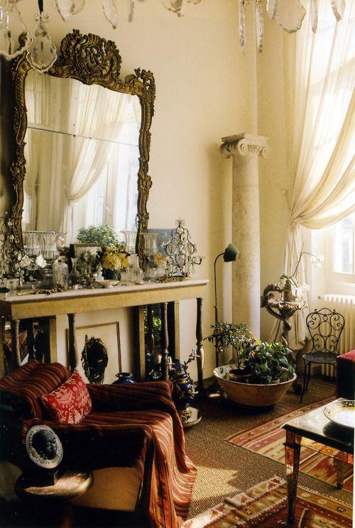 {at home with loulou de la falaise}