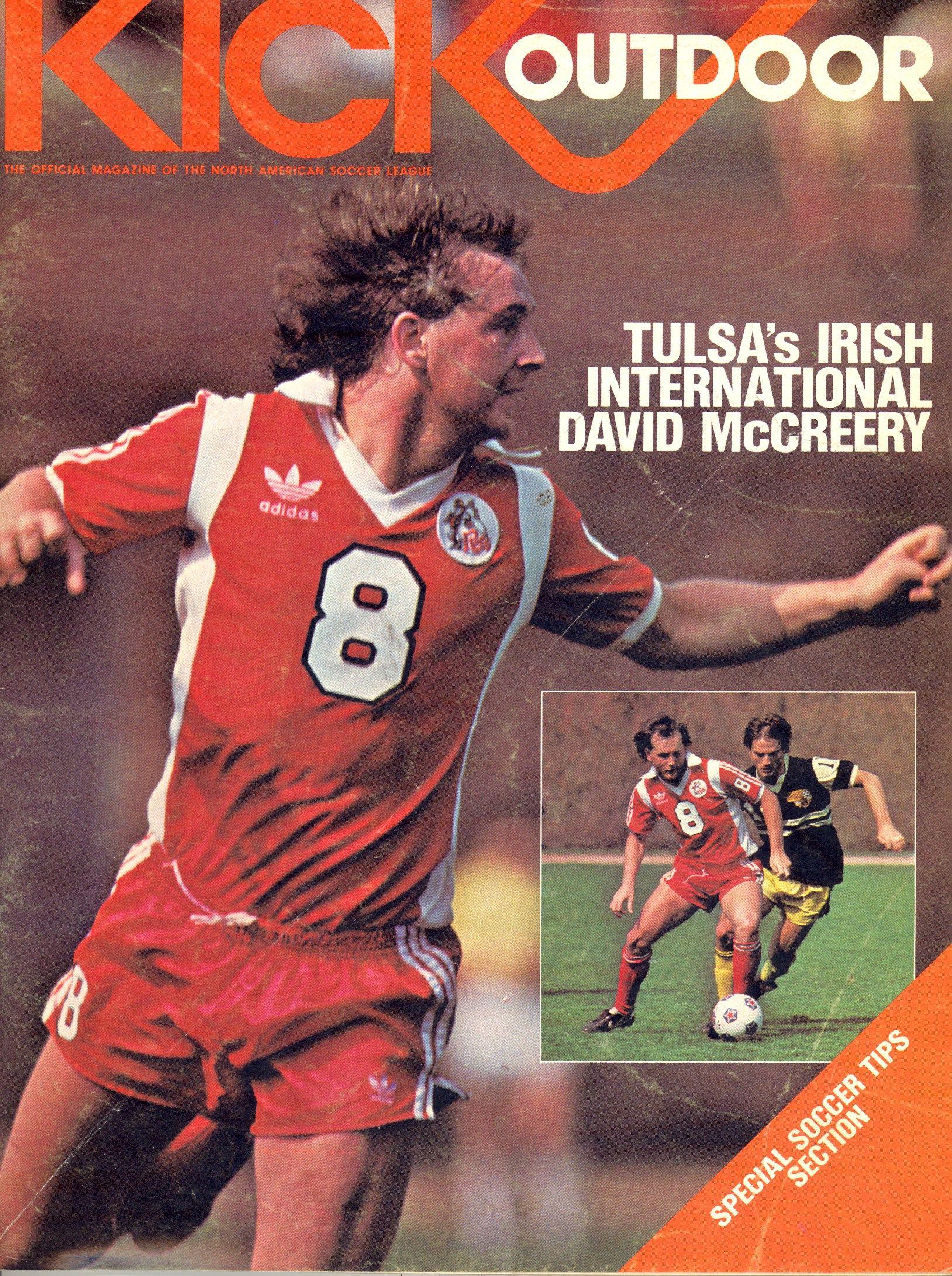 1982 Kick Magazine Whitecaps Vs San Jose Earthquakes In 2020 North American Soccer League American League San Jose Earthquakes