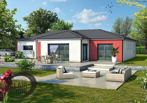 Le modèle de maison Eridan allie confort et fonctionnalité Lu0027enduit - frais annexes construction maison3