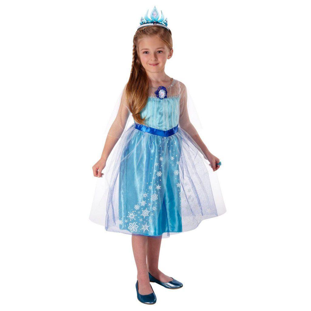 0f1d74048 Disfraz niña Elsa. Frozen  el reino del hielo Disfraz para niña de Elsa la  Reina de las nieves de Arendelle