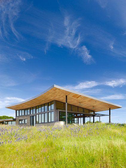Caterpillar House Located: Santa Lucia Preserve, California Architect: Feldman Architecture