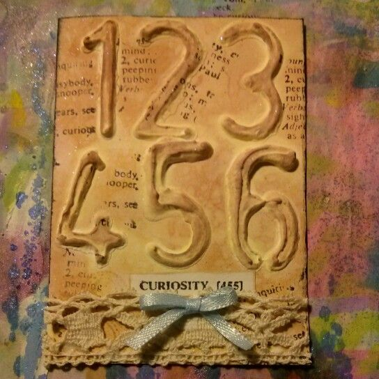 Curiosity ATC by Carolyn Albro