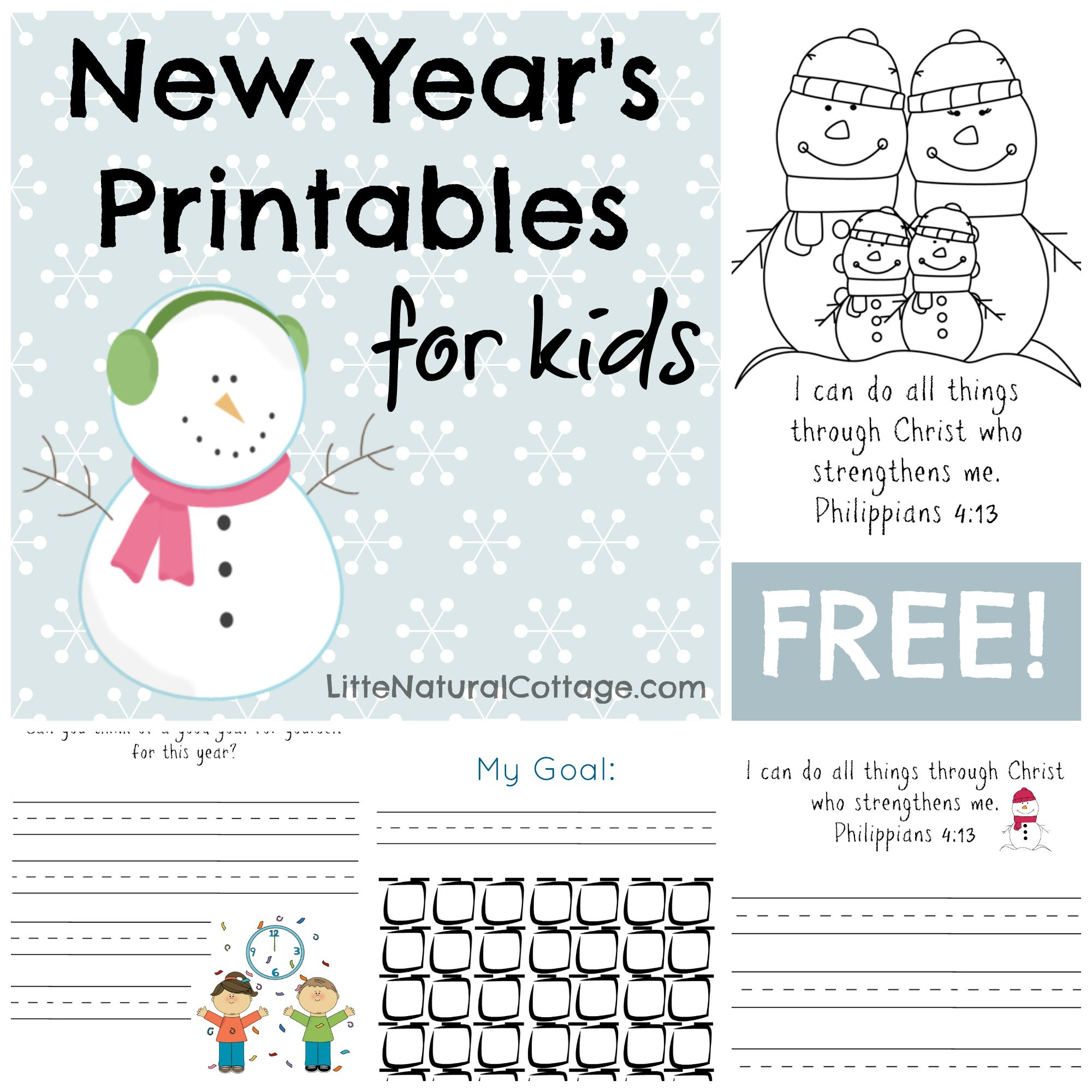 Free printable goal-setting for kids | Free Printables | Pinterest