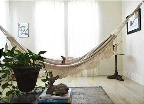 10 Relaxation Inducing Indoor Hammocks