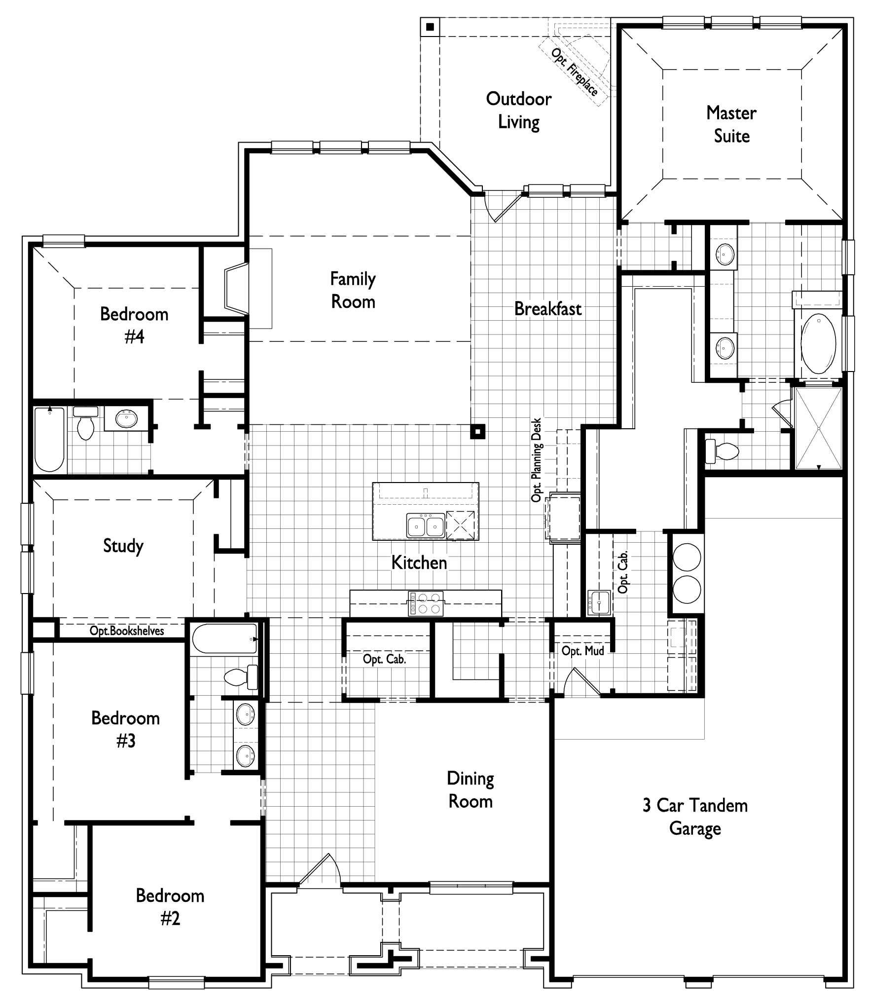 New House Plans, New Home Builders, House