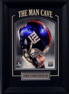 new concept f7e9f 0374f Amazon.com: New York Giants NFL Football Helmet Raised High ...