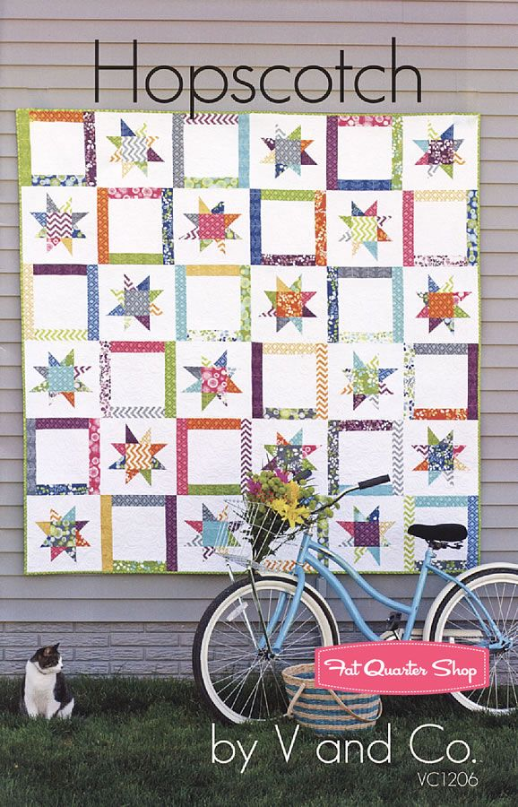 V & Co's Hopscotch Quilt Pattern