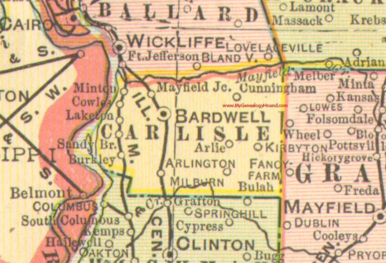 Carlisle County, Kentucky 1905 Map Arlington, Bardwell, Cunningham on ky state map, ky area code map, ky hunting zones map, counties in ok map, ky jacksonville map, ky msa map, louisville map, mckee ky map, bowling green ky map, ky fault line map, kentucky map, ky region map, lexington ky map, ky district map, ky sinkhole map, ky city map, ky time zone map, north central ky map, ky map clip art, ky zip code map,