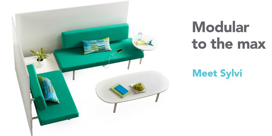 Sylvi Izzy Modular Lounge · Lounge FurnitureOffice ...