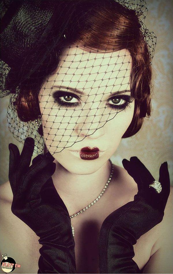 coiffures inspir es des ann es 20 burlesque cabaret and. Black Bedroom Furniture Sets. Home Design Ideas