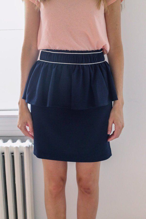 59e6cb19b0 Ganni Clark Skirt - Total Eclipse   Dresses   Skirts, Dresses ...
