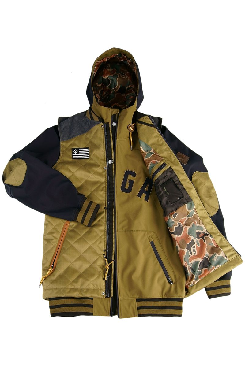 2016 Saga Puff Vest Poly Combo Basin Sports Saga Outerwear Puff Vest Jackets [ 1200 x 800 Pixel ]