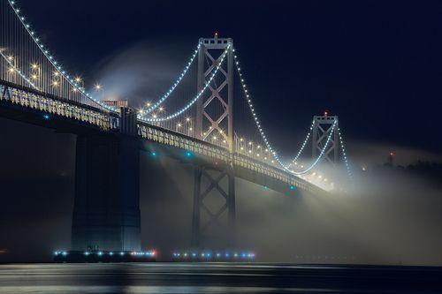 landscapelifescape:    San Francisco Bay Bridge, San Francisco, California, USA  Terence Chang
