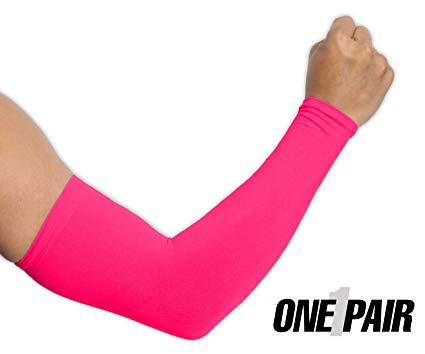Uv Protection Cooling Arm Sleeves Upf 50 Compression Sun Sleeves Men /& Women PG