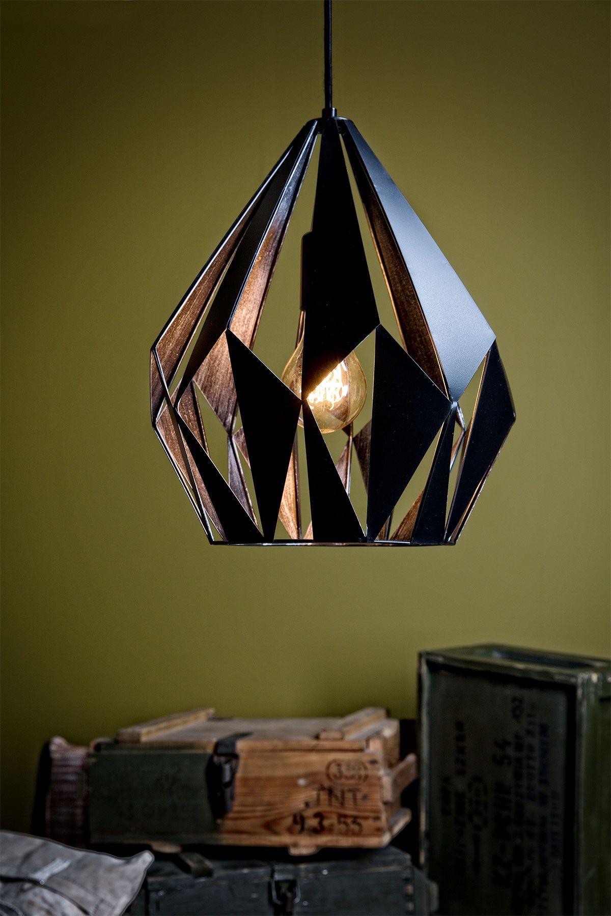 Stockholmban este 10 kor kiabalnak 703 - 49254 Vintage Eglo Hanglamp