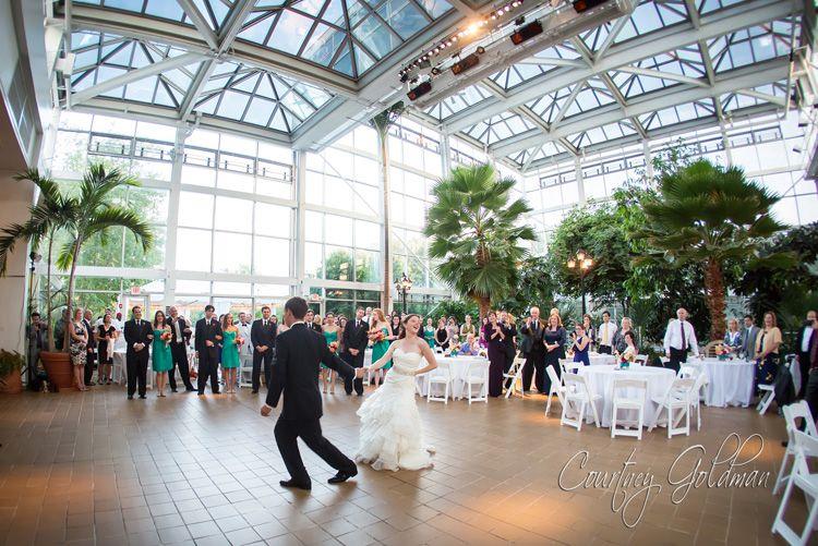Athens Georgia Botanical Garden Conservatory Wedding By Courtney Goldman Photography 2