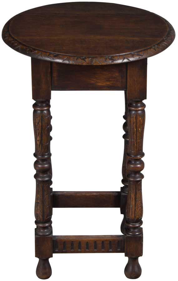 Antique English Oak Side Table Oak Side Table Side Table