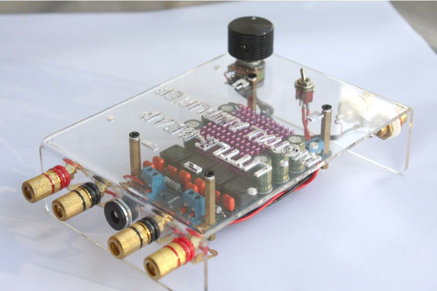 DIY KIT Tripath TP2050 2* 50w CLASS T digital amplifier amp made by yourself