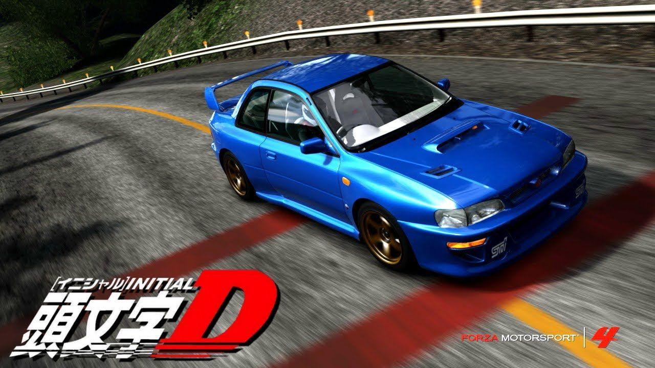 Bunta Fujiwaras Subaru Impreza WRX STi Type R Version V 22B GC8 Sonic Blue Mica