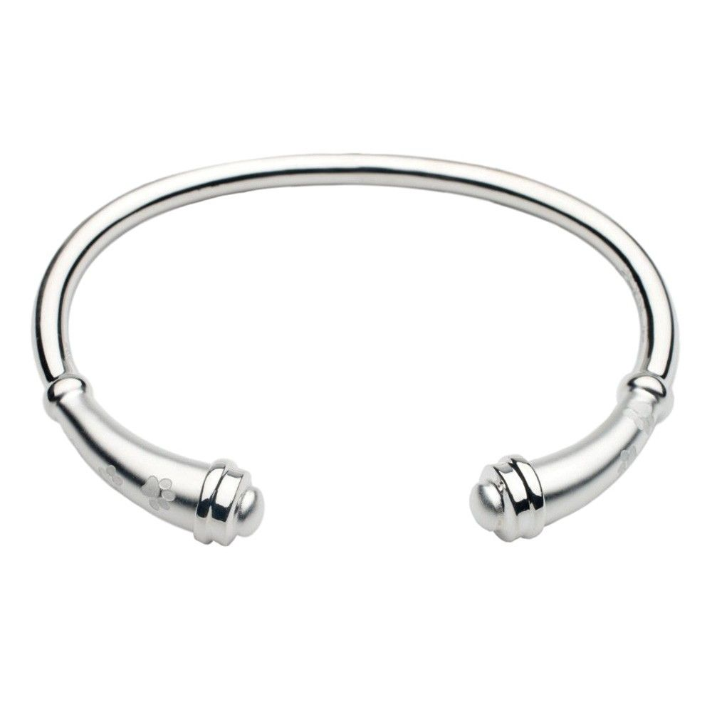 The Paw Prints Flute Silver Finish 925 Sterling Cremation Jewelry Bracelet Is A Beautiful And Elegant Addition To Your Keepsake Collection