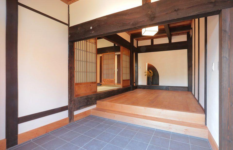 明治初期の家 古民家 リノベーション 家 住宅リフォーム