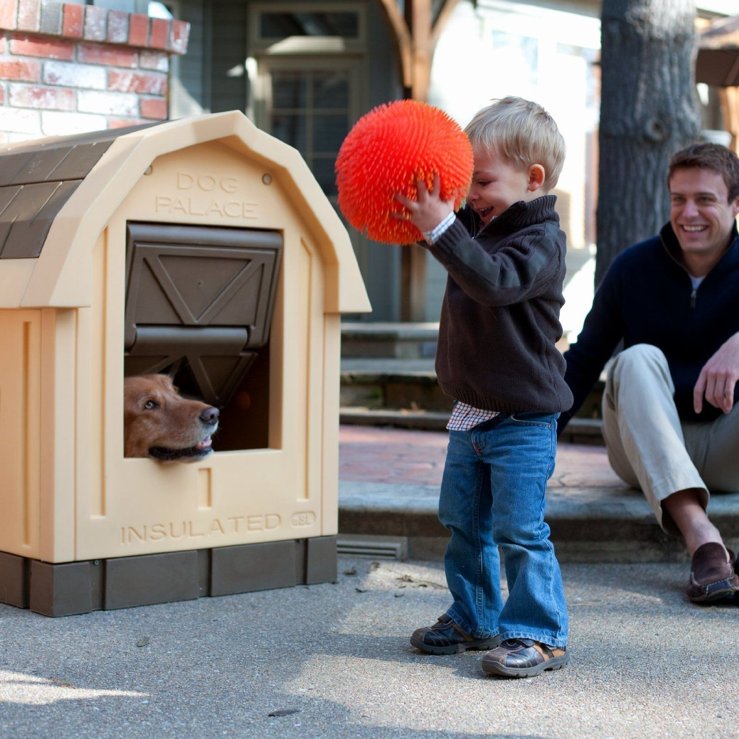 Insulated Dog House Keep Your Pet Friend Safe Cool Dog Houses