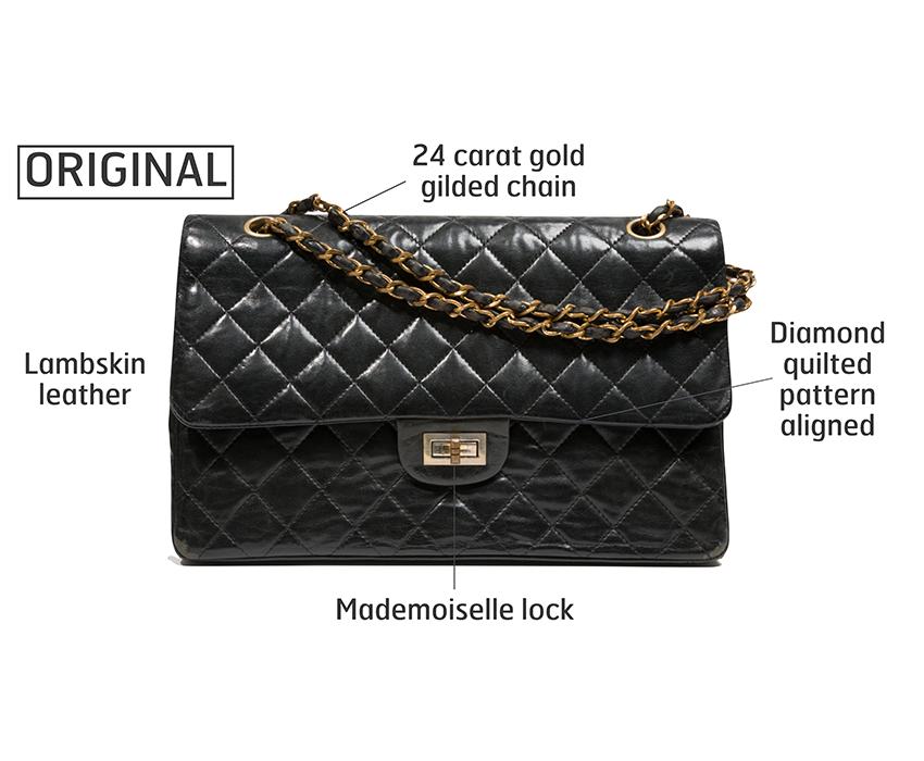 "bfe744eb4bfb Gabrielle ""Coco"" Chanel 2.55 bag. Leather"