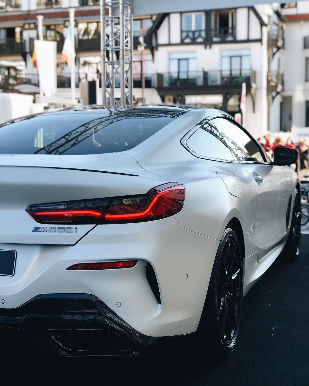 Satin White Bmw M850i What Do You Guys Think Carlifestyle Photo By F X Tih Dream Cars Bmw Bmw Lamborghini Cars