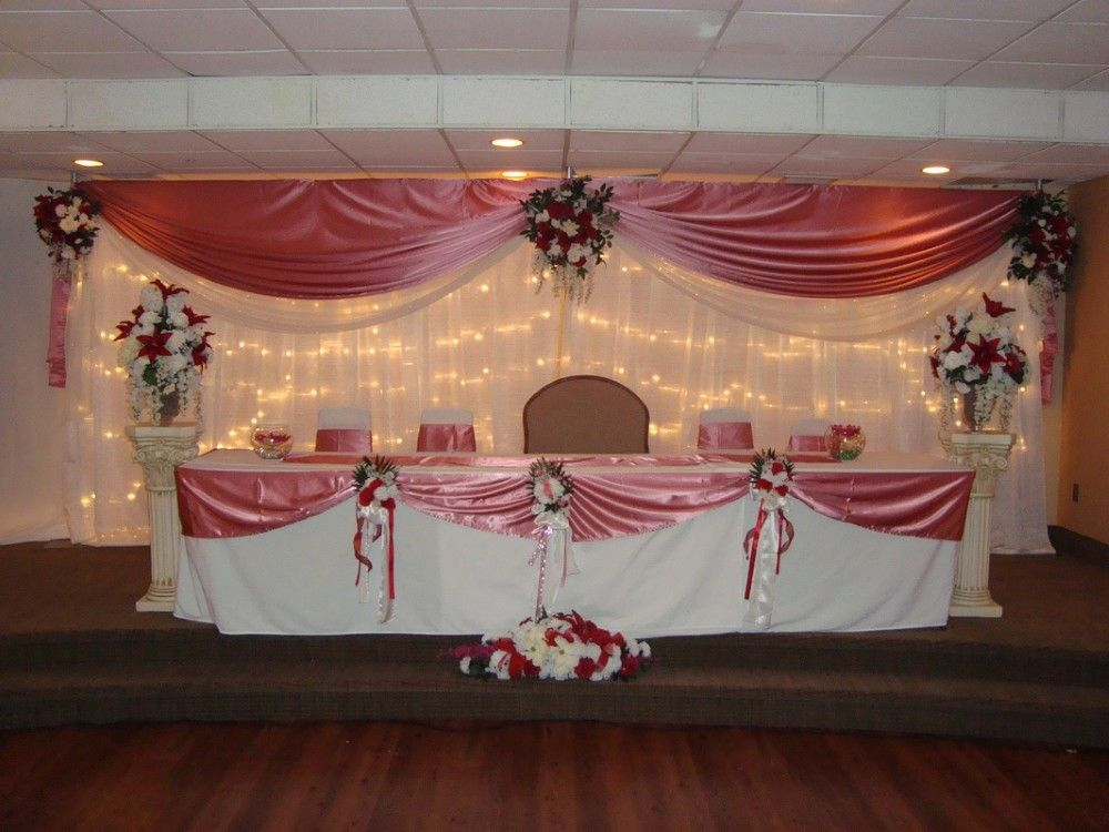 How To Build Wedding Backdrops