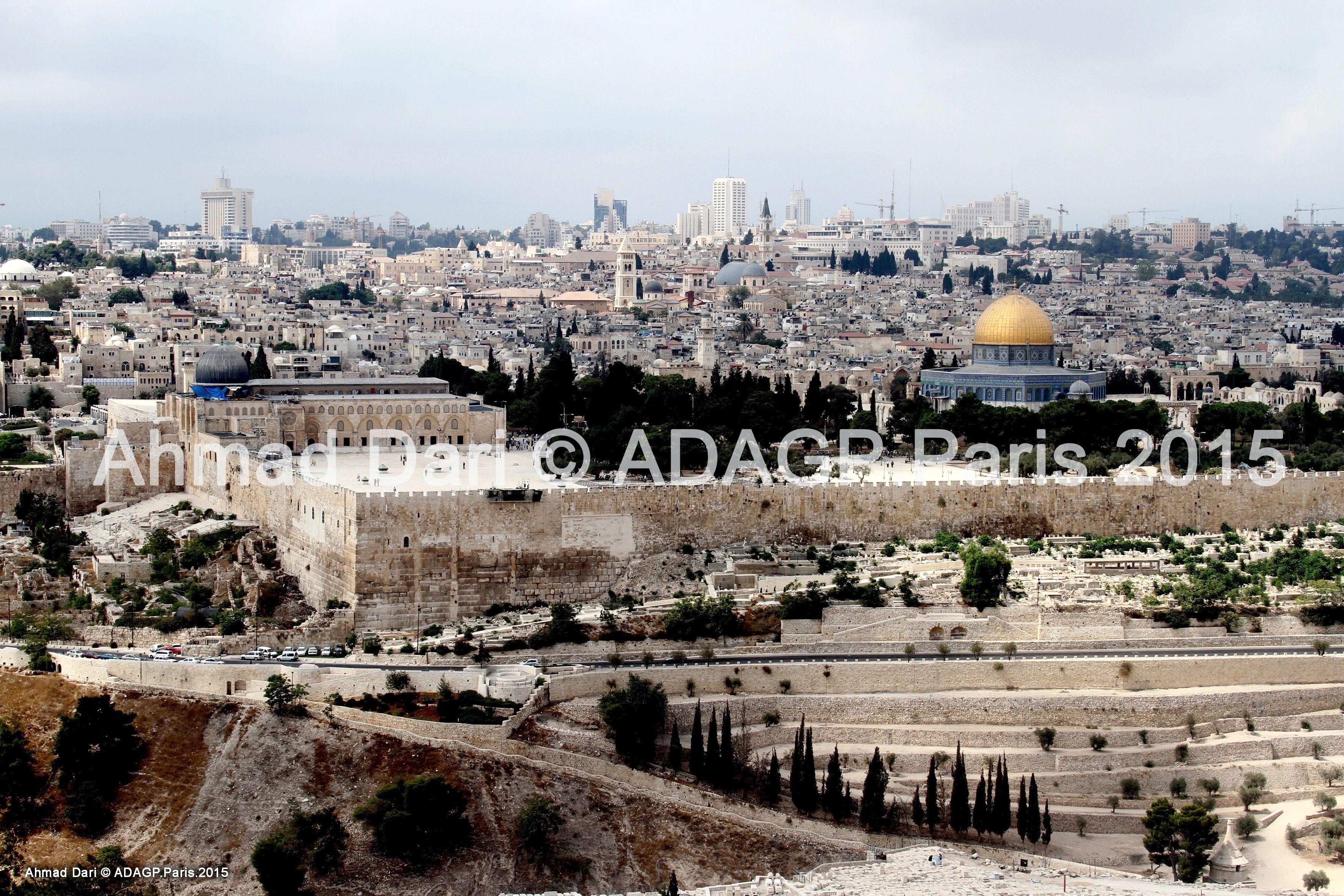 Jérusalem 0004 Ahmad Dari © ADAGP.Paris 2015
